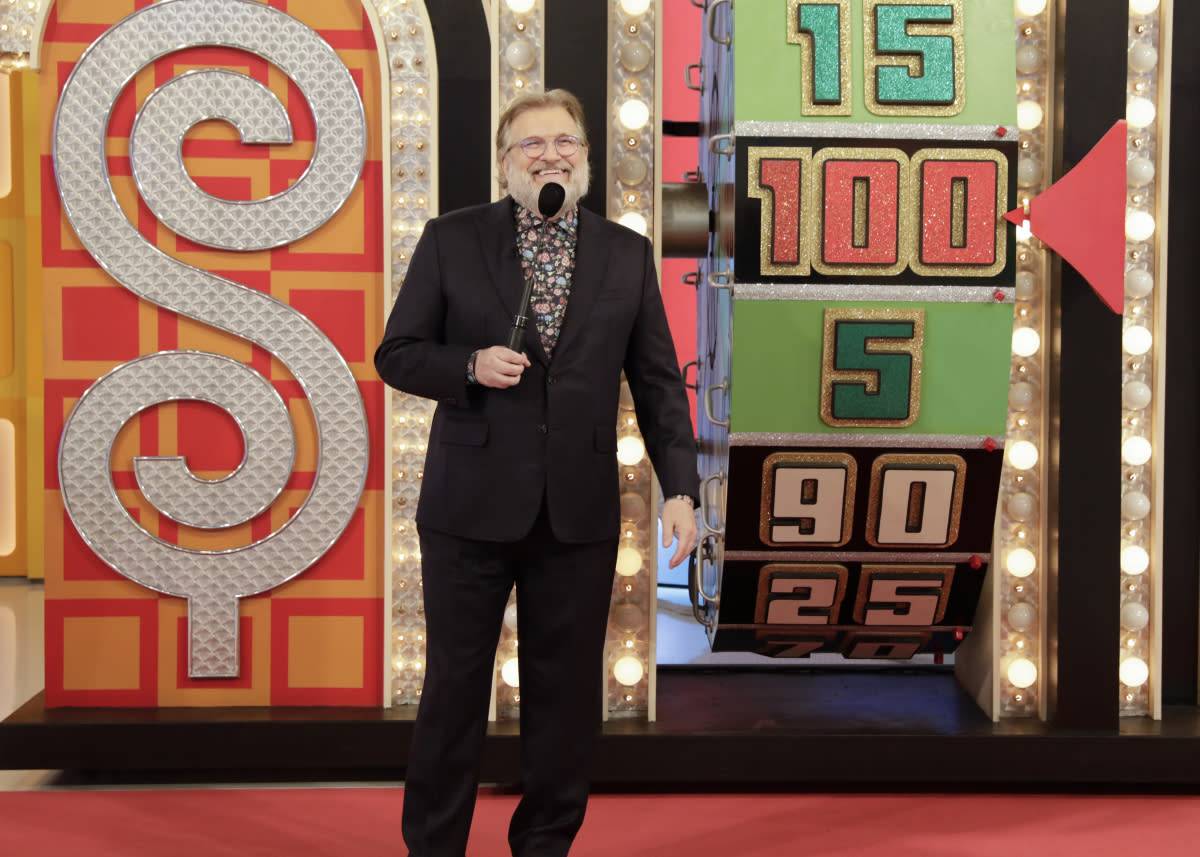 Drew Carey hosts the hit daytime game show, 'The Price is Right,' which is entering its 50th season on the air. (Photo: Cliff Lipson/CBS Broadcasting, Inc.)