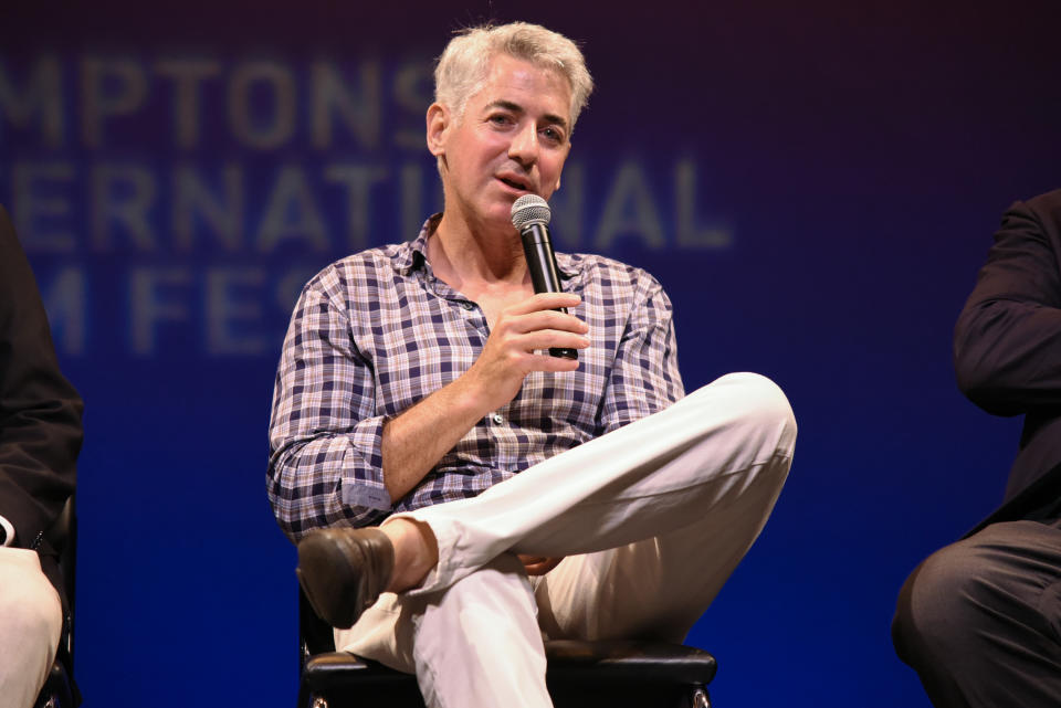 """EAST HAMPTON, NY - AUGUST 06:  Bill Ackman attends the Hamptons International Film Festival SummerDocs Series screening of """"Betting On Zero"""" at Guild Hall on August 6, 2016 in East Hampton, New York.  (Photo by Matthew Eisman/Getty Images for Hamptons International Film Festival)"""