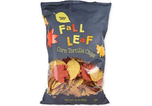 <p>These traditional tortilla chips are crunchy and made in a leaf-shaped crisps. <strong>Free from artificial dyes, the chips get their color form ingredients like beets, carrots and pumpkin powders.</strong> We love them for dipping in the Pepita Salsa.</p>