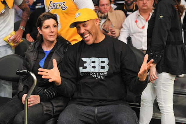 Yes, LaVar Ball likes attention. (Getty Images)