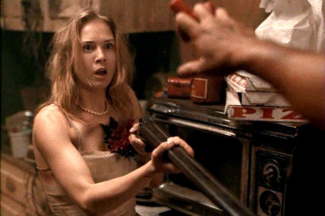Renée Zellweger in 'Texas Chainsaw Massacre: The Next Generation' (Lionsgate)