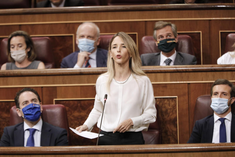 Cayetana Álvarez de Toledo en el Congreso. (Photo by Jesus Hellin/ Europa Press via Getty Images)