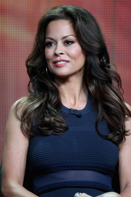 Brooke Burke-Charvet speaks onstage at the 'Dancing with the Stars: All-Stars' panel during the Disney/ABC Television Group portion of the 2012 Summer TCA Tour in Beverly Hills on July 27, 2012 -- Getty Images