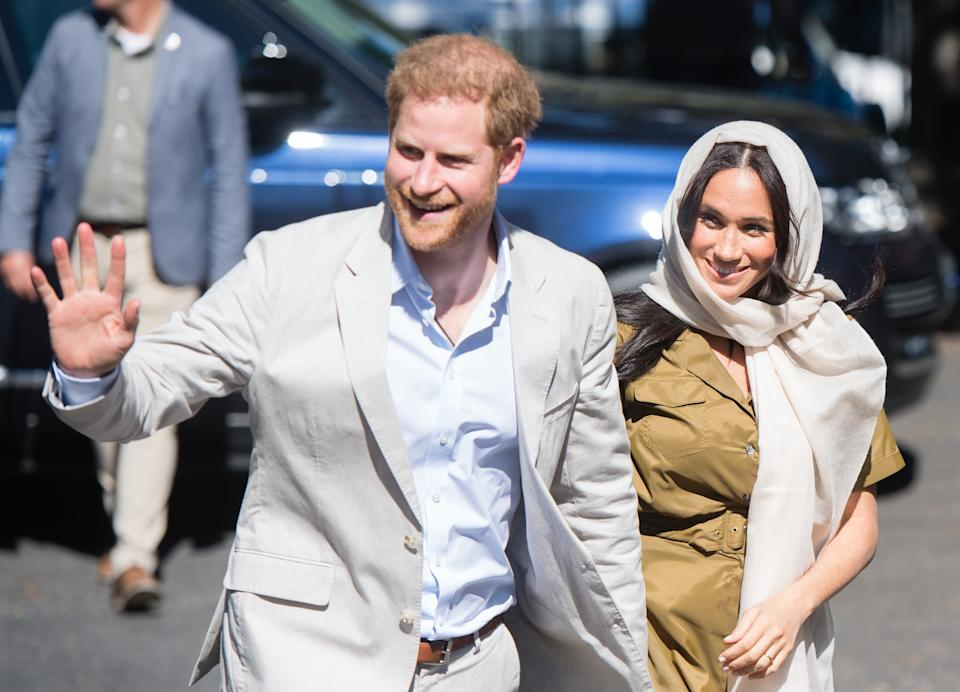 The Duke of Sussex has really nailed his royal tour wardrobe during his trip to South Africa [Photo: Getty Images]