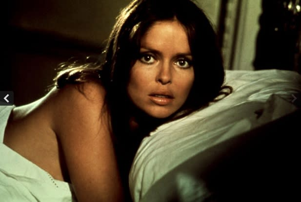 """<div class=""""caption-credit""""> Photo by: United Artists</div><div class=""""caption-title"""">Then</div>Barbara Bach, 64, become an international sex symbol playing Russian spy Anya Amasova, Agent XXX, in 1977's """"The Spy Who Loved Me."""""""