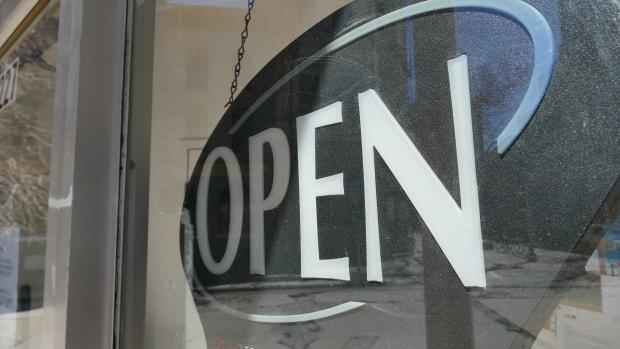 P.E.I. has seen a net gain of about 40 active businesses a month since July. (Trevor Brine/CBC - image credit)