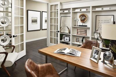 Lofts and studies are now styled for functional workstations and homework centers.