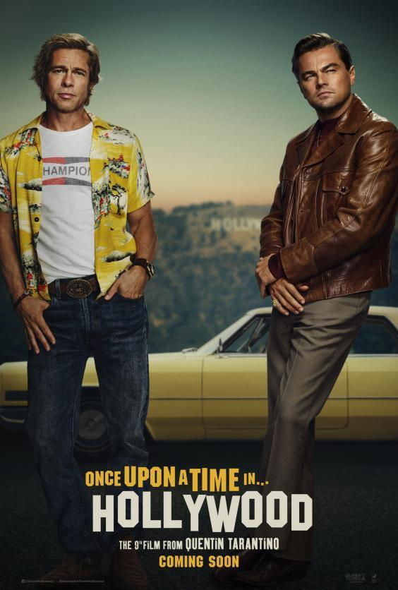 A new poster for 'Once Upon a Time in Hollywood' was released on 18 March, 2019. (Sony Pictures Releasing)