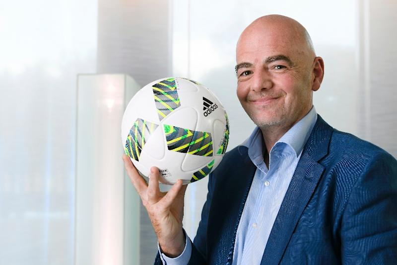 FIFA president Gianni Infantino wants to expand the World Cup to 48 teams, a contentious move that critics say would dilute the quality of the tournament (AFP Photo/Fabrice Coffrini)