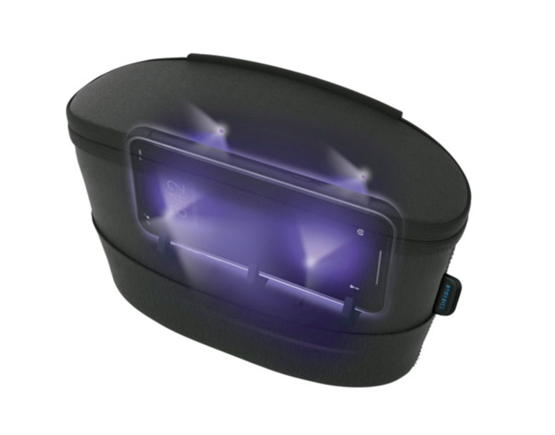 HoMedics UV-Clean Portable Sanitizer Bag. Image via Best Buy.