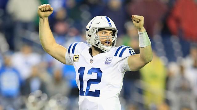We take a look at Andrew Luck's career numbers after the 29-year-old announced his shock retirement from the NFL.