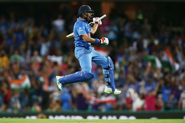 The elegant left-hander has produced some breathtaking innings to win games for India at major tournaments