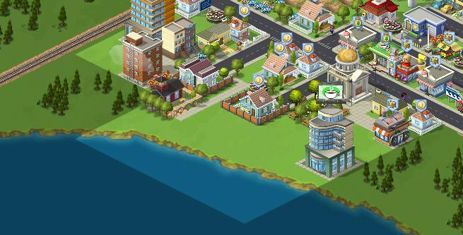 Expansions in CityVille