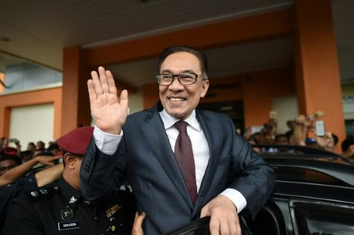 Anwar was originally jailed 20 years ago by then-premier Mahathir Mohamad, on what supporters insisted were trumped up sodomy charges