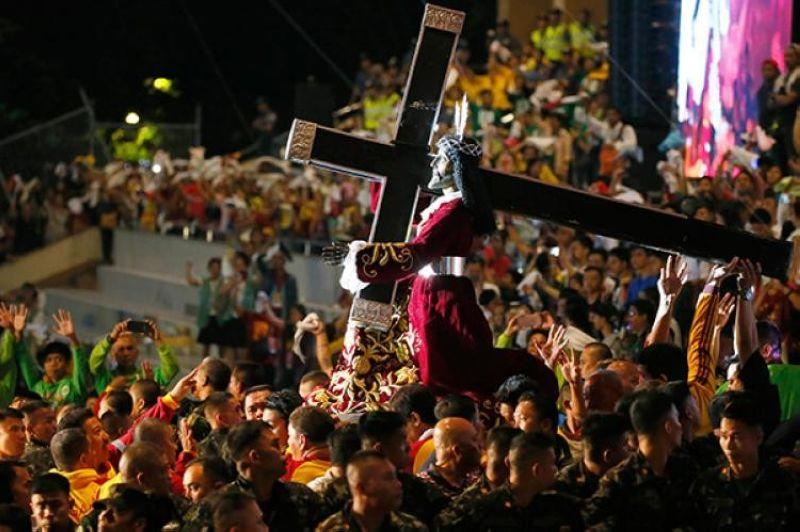 Work, classes in Manila City suspended for Black Nazarene procession