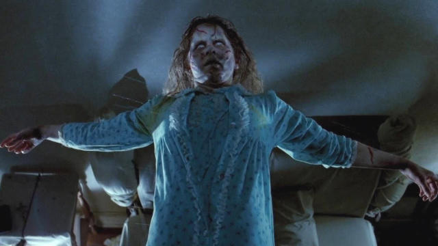 Various mishaps on the set of 'The Exorcist' led to rumours of a curse. (Credit: Warner Bros)
