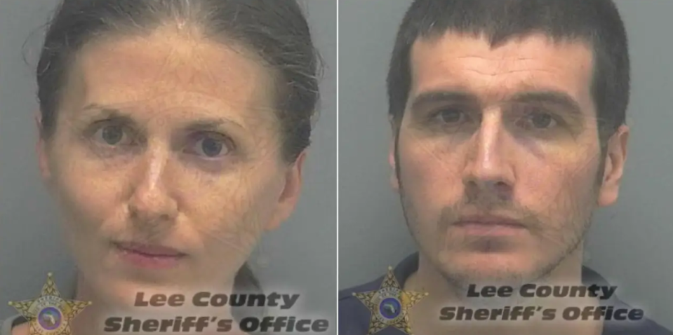 Pictured are Sheila O'Leary, 35, and Ryan Patrick O'Leary, 30. Source: Lee County Sheriff's Department