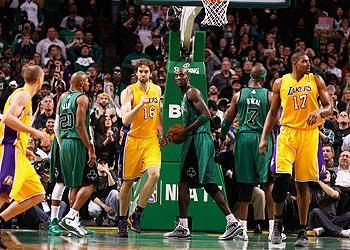 Several Lakers and Celtics players, including stars Ray Allen, Pau Gasol and Kevin Garnett, could be wearing different uniforms – or be retired – when the Lakers visit Boston next season