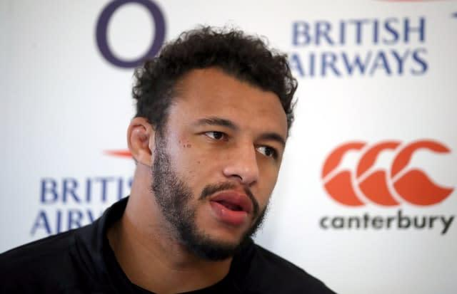 Courtney Lawes makes his opinions known on Twitter (John Walton/PA)