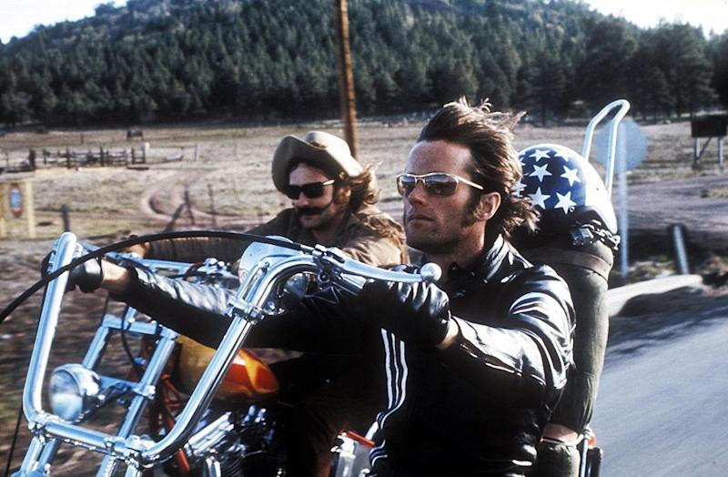 Peter Fonda and Dennis Hopper in 'Easy Rider' (Columbia Pictures)