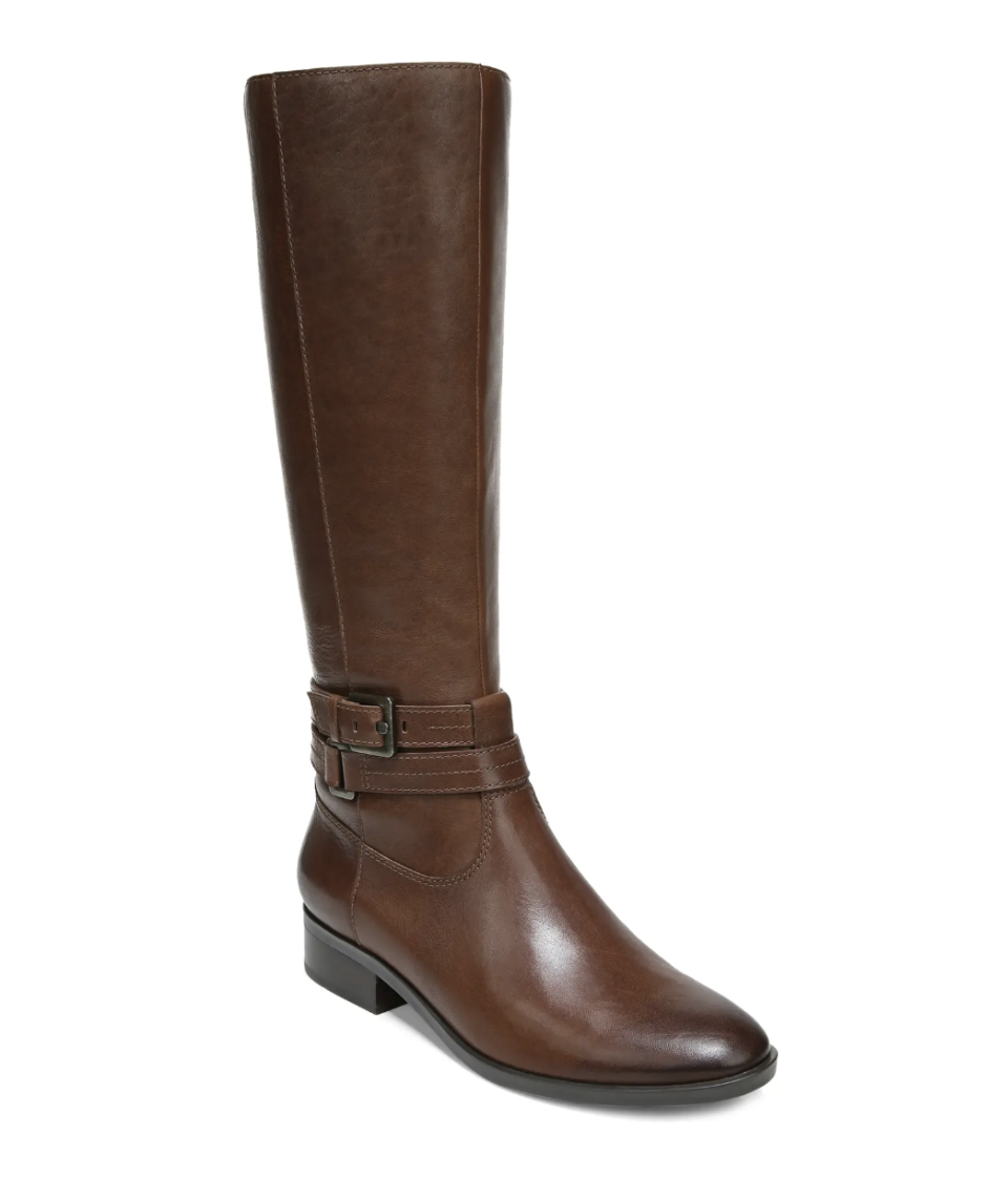 Naturalizer Reed Riding Boot in Cinnamon Leather (Photo via Nordstrom)
