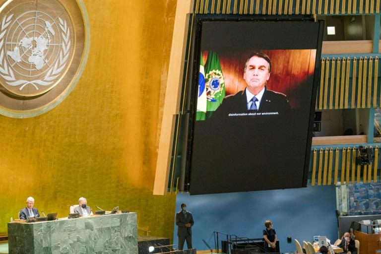Brazil victim of 'brutal disinformation' on Amazon: Bolsonaro