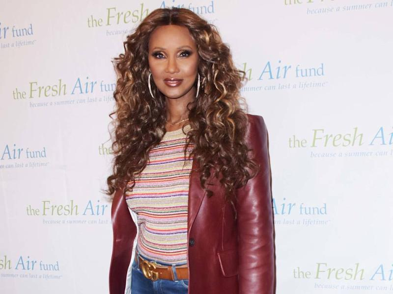 Iman to receive Franca Sozzani Award
