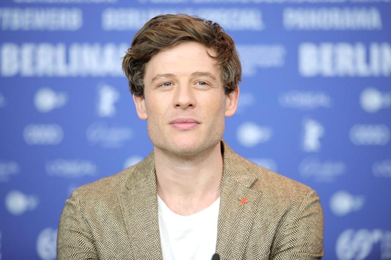 James Norton at an event in Hollywood