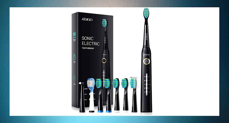 This affordable electric toothbrush has racked up nearly 9,000 five-star reviews from Amazon shoppers.