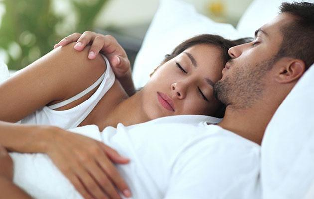 Sharing your daily triumphs with your S.O. could help you sleep better. Photo: Getty Images
