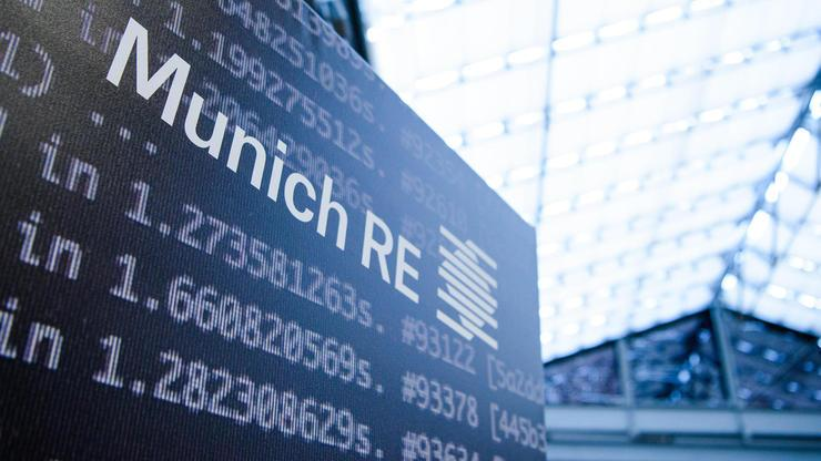 Munich Re hat weiter Risikoappetit