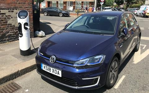 long-term VW e-Golf craig thomas 120618