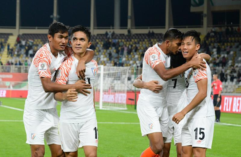 Although India went down against UAE the winger believes that India can still qualify for the next round...