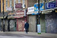 With many businesses like shops shuttered, unemployment has mounted in the face of infection control measures