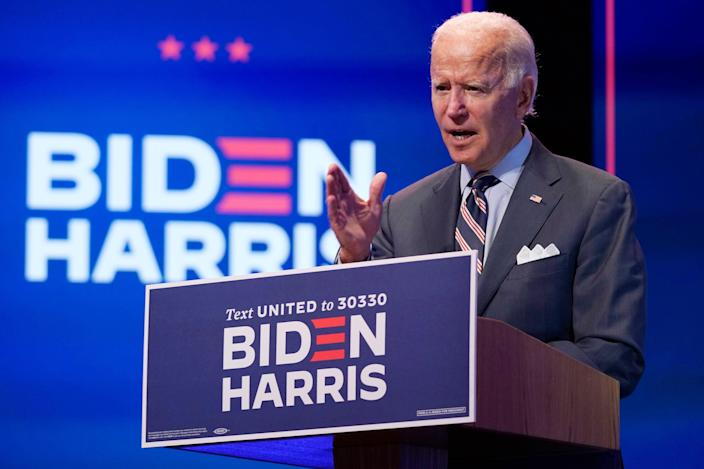 Joe Biden, the Democratic presidential nominee, will not be the subject of any debate prep for Donald Trump. He's going to wing their three debates. (AP)