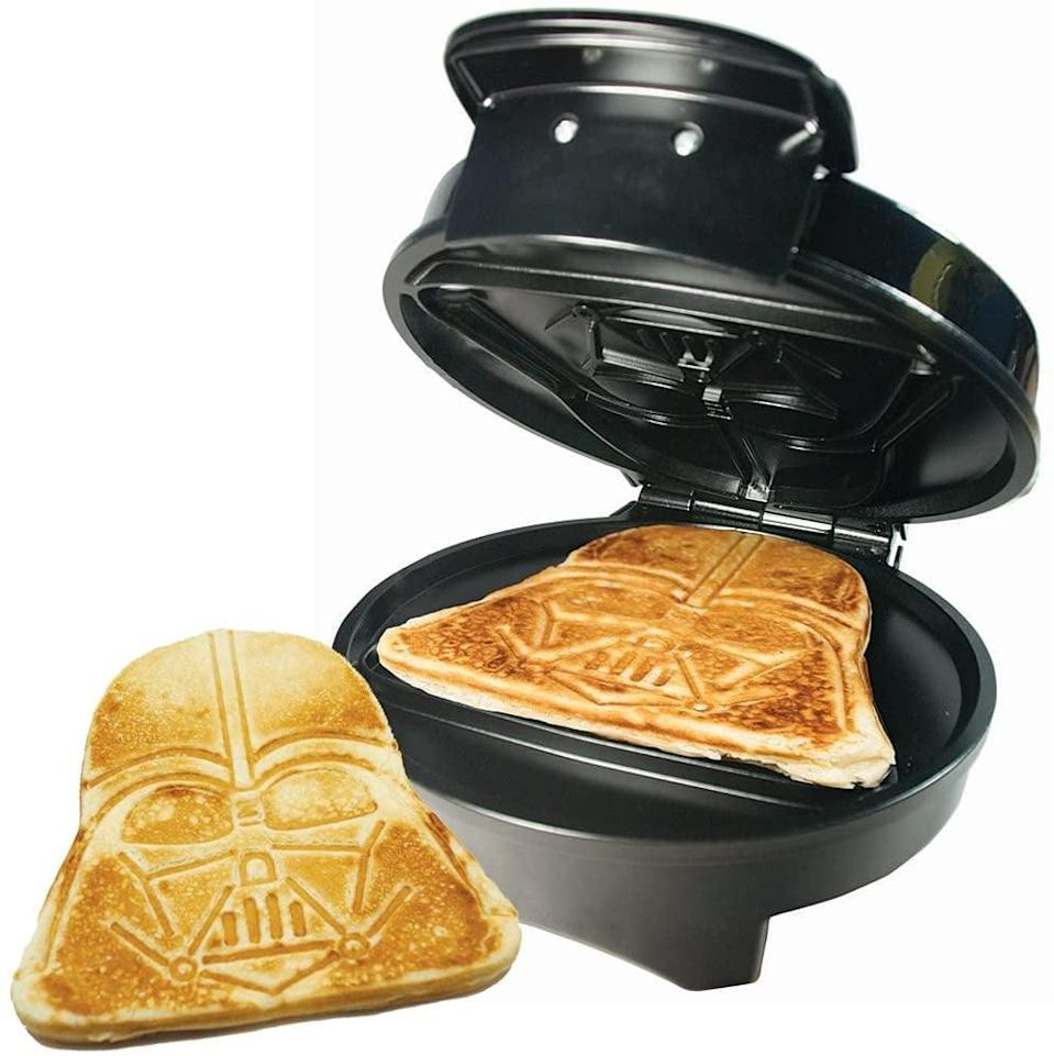 <p>The <span>Star Wars Darth Vader Waffle Maker</span> ($40, originally $50) is such a fun gift and can be put to good use on Christmas morning.</p>
