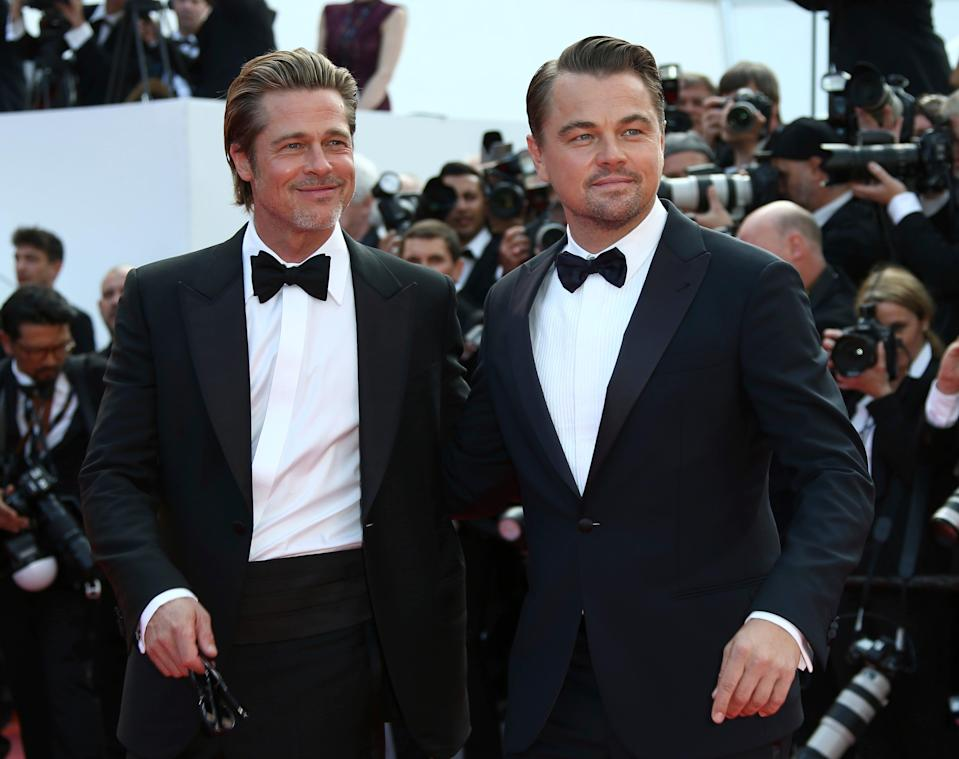 """Leonardo DiCaprio and Brad Pitt launched """"Once Upon a Time in Hollywood"""" at last year's Cannes Film Festival. Pitt went on to win best supporting actor for the film at the 2020 Oscars."""