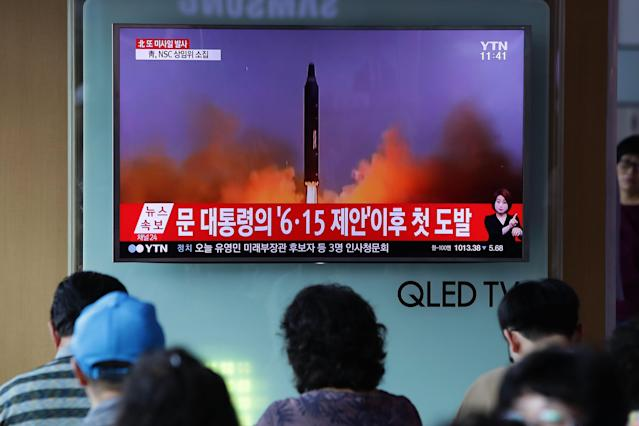 <p>An Airline Crew Says It Saw North Korea's Latest Missile Test During a Commercial Flight </p>