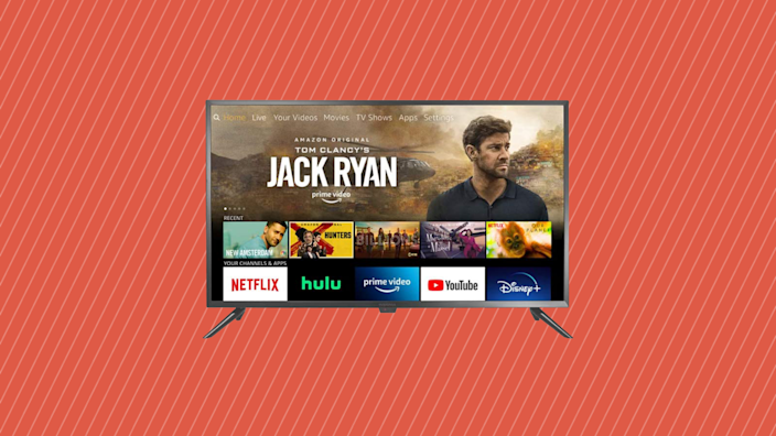 Save 33 percent on this Insignia 24-inch Smart HD TV—Fire TV Edition. (Photo: Amazon)