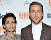 """<p><a href=""""https://www.elle.com/uk/life-and-culture/a29063496/ryan-gosling-eva-mendes-relationship/"""" rel=""""nofollow noopener"""" target=""""_blank"""" data-ylk=""""slk:The private couple"""" class=""""link rapid-noclick-resp"""">The private couple</a> met on the set of The Place Beyond the Pines, in 2011 and have two daughters together.</p>"""
