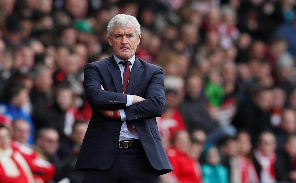 Mark Hughes could ultimately have had a hand in two relegations from this season's Premier League. (Reuters)