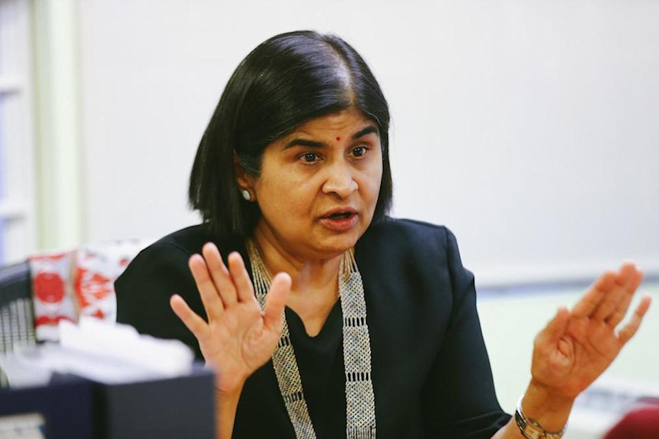 ICJ commissioner Datuk Ambiga Sreenevasan called on Datuk Seri Zulkifli Mohamad to rescind the order immediately and to take steps to ensure non-discrimination and equal protection of all persons in Malaysia, including the lesbian, gay, bisexual, transgender and intersex (LGBTI) community. — Picture by Ahmad Zamzahuri