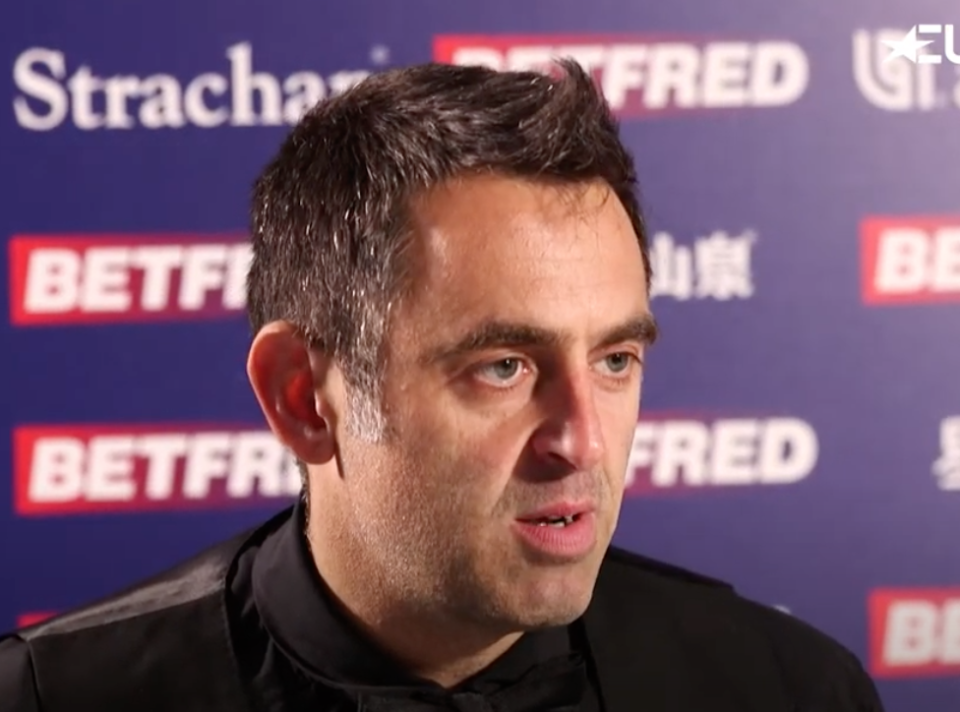 Five-time world champion O'Sullivan is calling for the UK to slow down and be more like the continent in its way of life