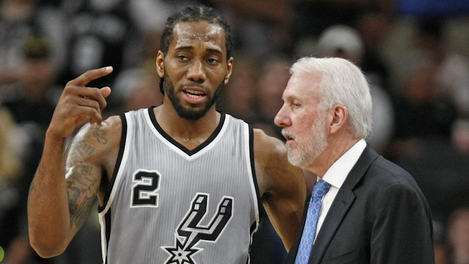 After fears that he would miss the season, Kawhi Leonard may return to the Spurs lineup in time to face the streaking Pelicans. (Getty)