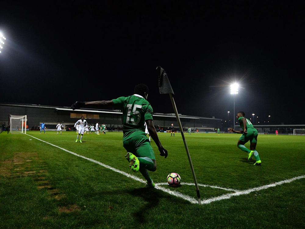Nigeria played at Barnet's The Hive on Thursday in the 1-1 draw with Senegal (Getty)
