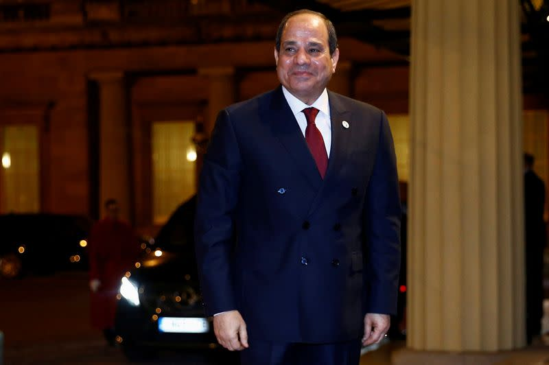 Egypt's Sisi welcomes UAE-Israel deal, halt to annexation of Palestinian lands