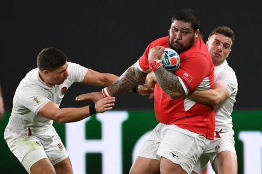 Ben Tameifuna ballooned to 160kgs while on World Cup duty with Tonga and will not play for Racing until he has lost 20kgs