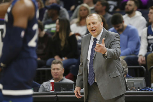 Can Tom Thibodeau resurrect the Knicks? (AP Photo/Stacy Bengs)