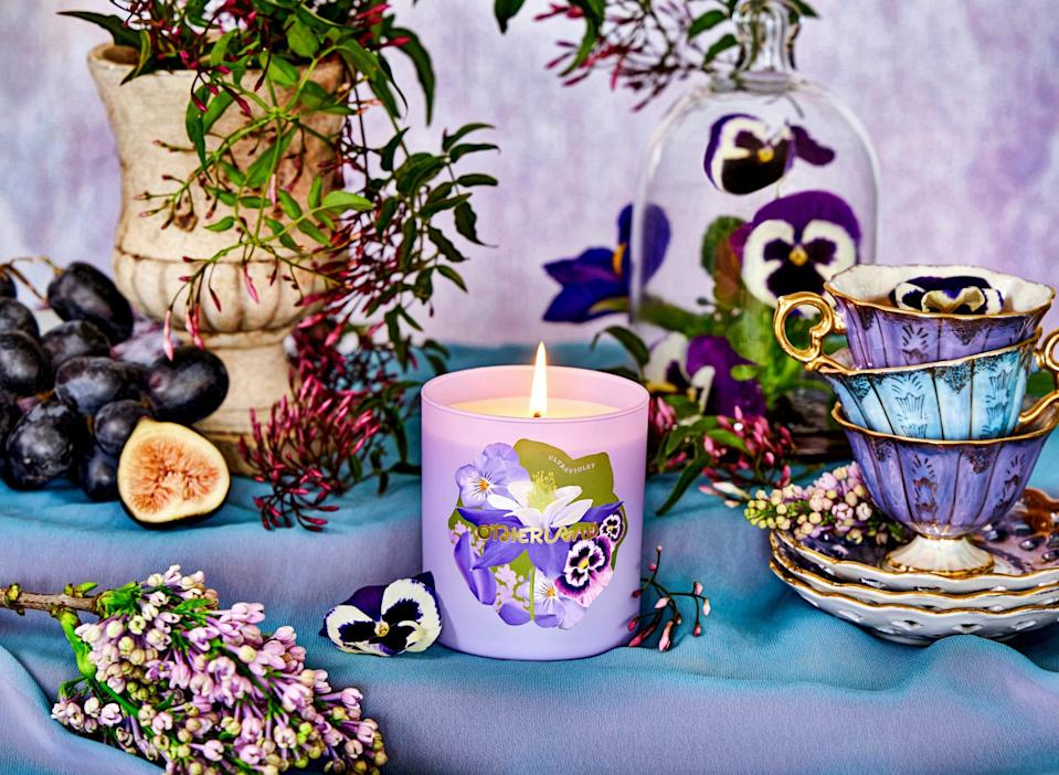 "<h2>Ultraviolet</h2><br><strong>The Inspiration:</strong> ""All about purple flowers like violet and lavender. Tea was another source of inspiration for the collection, so there's jasmine tea in the mix.""<br> <br><strong>Scent Profile:</strong> Jasmine Tea, Purple Violet, Wild Lavender<br><br><strong>Otherland</strong> Ultraviolet, $, available at <a href=""https://go.skimresources.com/?id=30283X879131&url=https%3A%2F%2Fwww.otherland.com%2Fproducts%2Fgarden-party%3Fvariant%3D33175677829229"" rel=""nofollow noopener"" target=""_blank"" data-ylk=""slk:Otherland"" class=""link rapid-noclick-resp"">Otherland</a>"