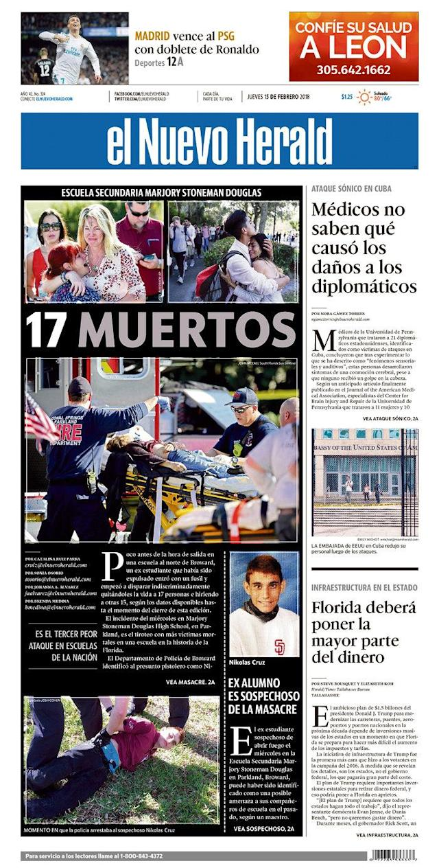 <p>Published in Miami, Fla. (<em>Newseum)</em> </p>